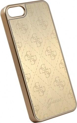 Zadní kryt Guess 4G Aluminium GUHCPSEMEGO pro iPhone 5 5S SE - zlatý ... 169c87d6c65
