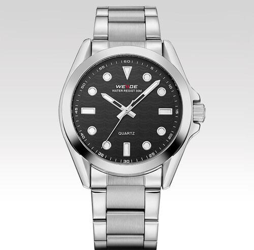 f0f20583c5a Weide Pánské kovové hodinky s černým ciferníkem Minimalism - Glami.cz