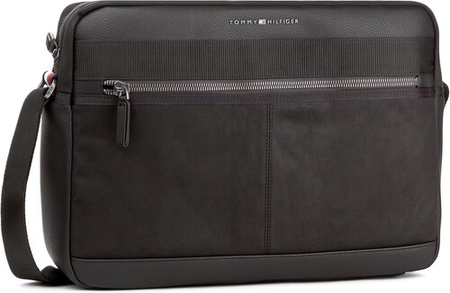 Brašna na notebook TOMMY HILFIGER - Playful Novelity Messenger AM0AM03013  002 3829781390e