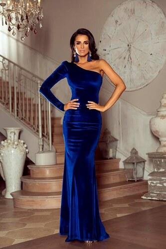 EMO Plesové šaty Laura modré - Glami.cz f670afba2c