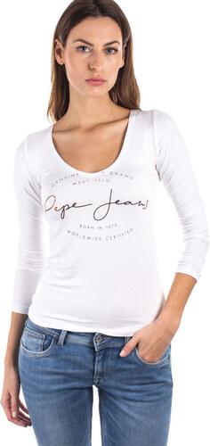 Dámské tričko Pepe Jeans ELSI L - Glami.cz 094b2aae06