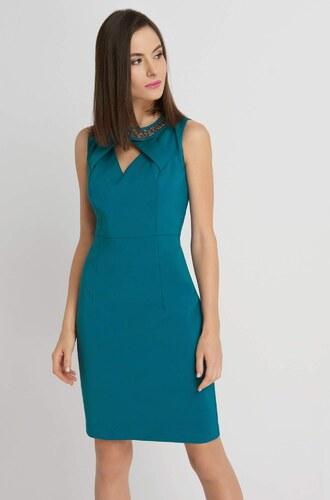 2b99d7712ff3 Orsay Puzdrové šaty s korálikmi v dekolte - Glami.sk