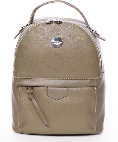 Originálny mestský batoh khaki - David Jones Riya Khaki - Glami.sk fddf90cef5