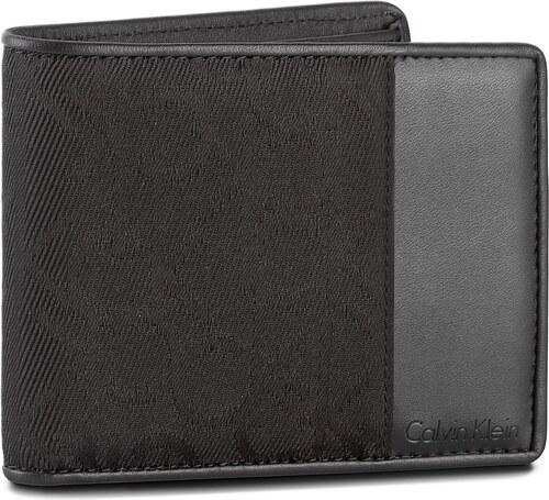0deced98a1 Nagy férfi pénztárca CALVIN KLEIN BLACK LABEL - Power Logo Billfold  K50K502199 001