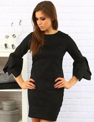 260d22ee817a Dstreet Čierne šaty Orchidea - Glami.sk
