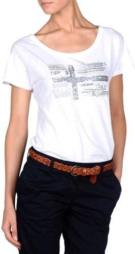 7995b459ddc8 Napapijri Dámske tričko SINK WHITE - Glami.sk