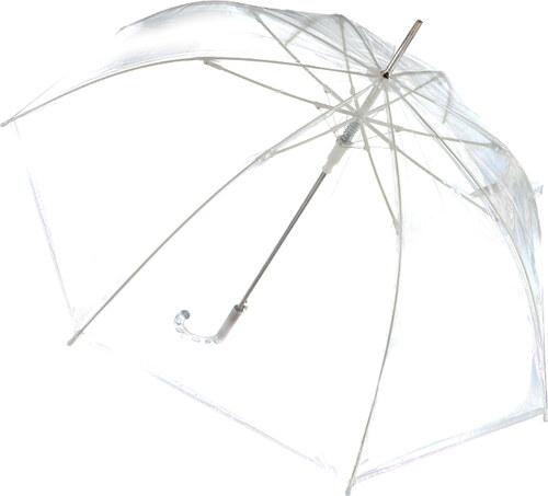 Tom Eva Átlátszó esernyő Silver Cleary - Glami.hu 30c68d140d