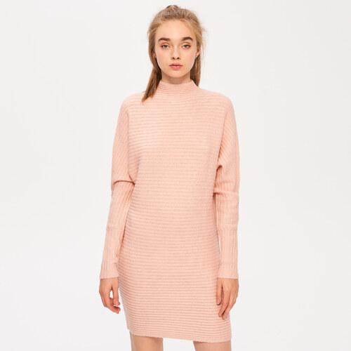 851f7d2111 Sinsay - Úpletové šaty - Ružová - Glami.sk