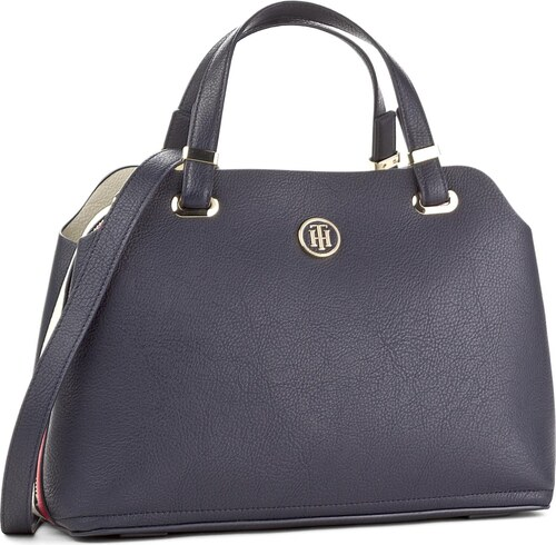 Geantă TOMMY HILFIGER - Th Core Satchel AW0AW04857 901 - Glami.ro 91c413ca69