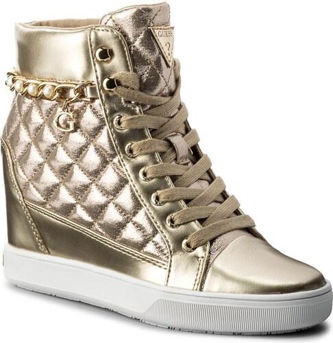 Sneakersy GUESS - Forty FLFRT1 LEL12 GOLD - Glami.sk b7a2c7308ba