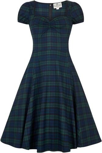 bb6f3005ea5 COLLECTIF Dámské retro šaty Mainline Mimi zelené - Glami.cz