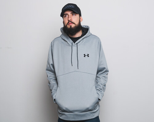 Mikina S Kapucí Under Armour AF Icon Solid Po Hood Grey - Glami.cz a79c98c53a