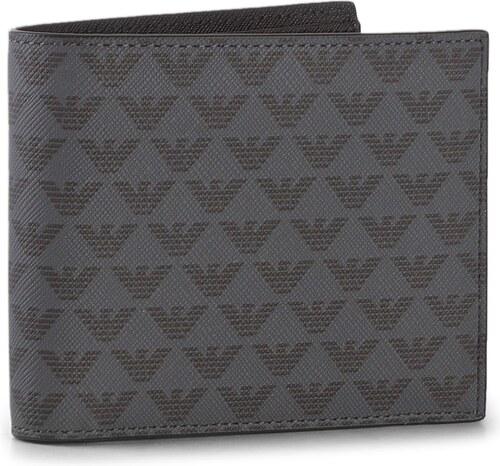 Velká pánská peněženka EMPORIO ARMANI - Y4R065 YG91J 81072 Black ... c6eaf78edf8