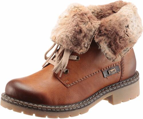 a59f28f16228 Rieker Zateplené šnurovacie topánky - Glami.sk