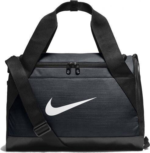268dc0754c Pánská Taška Nike NK BRSLA XS DUFF BLACK BLACK WHITE - Glami.sk