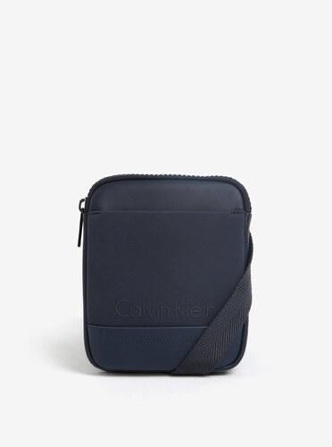 Tmavomodrá pánska crossbody taška Calvin Klein Jeans Caillou - Glami.sk 0267c7c4f93
