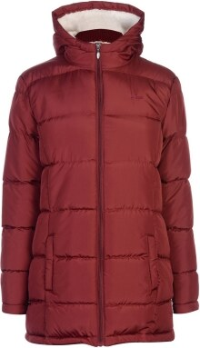 Lee Cooper Long Padded Jacket Ladies - Glami.hu b497cffba7