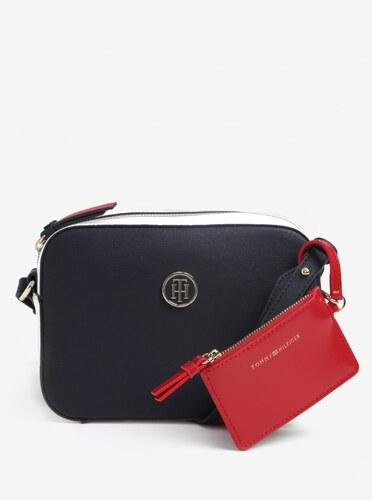 Tmavě modrá dámská crossbody kabelka s pouzdrem Tommy Hilfiger ... 9fa3fa994cf