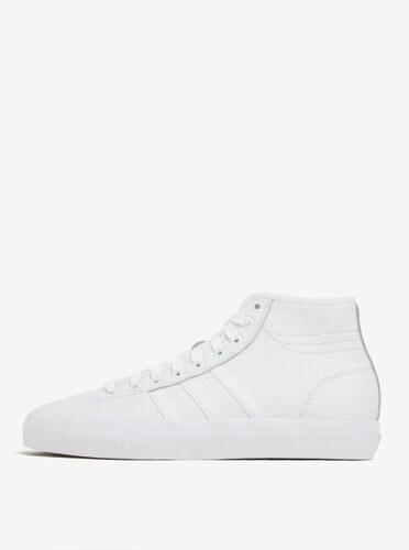 Biele pánske kožené členkové tenisky adidas Originals Matchcourt High 2dc5d3e7ff6