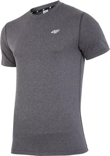 fbd23fe17e5c Pánské fitness tričko 4F Dry Control Melange šedá - Glami.cz