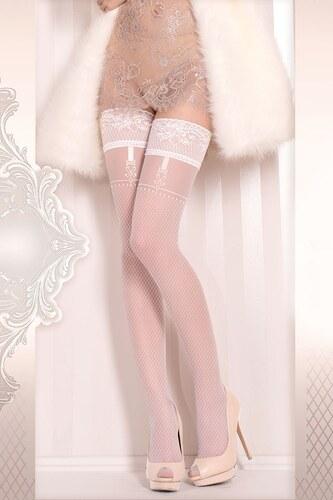 2eefedaf0 Ballerina Luxusné samodržiace pančuchy Wedding 374 biela - Glami.sk