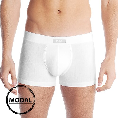 DIM Modal Blanc férfi boxeralsó fehér - Glami.hu 687745676a