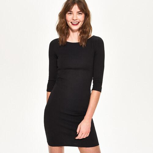 Sinsay - Pruhované šaty - Čierna - Glami.sk 284dddd6904