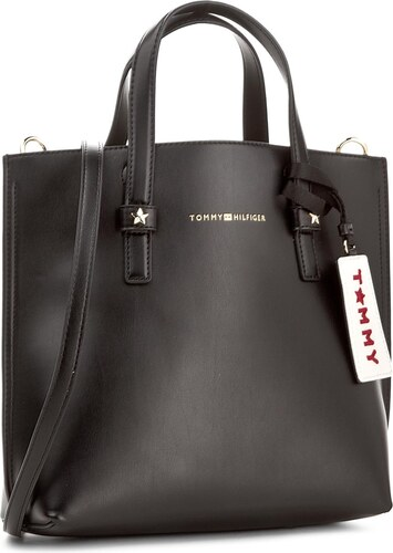 Kabelka TOMMY HILFIGER - Th Effortless Tote Small AW0AW04852 002 ... 5ee5ea57f86