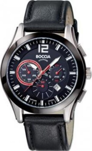 Pánské hodinky BOCCIA TITANIUM 3771-01 - Glami.cz 0d47150e861