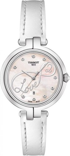 1d9f635422 Dámské hodinky TISSOT Flamingo Valentines Day T094.210.16.111.01 ...