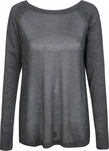 corley pullover damen strickpullover bergr e feinstrick pulli grau. Black Bedroom Furniture Sets. Home Design Ideas