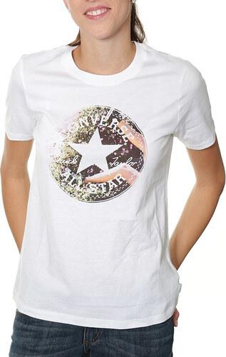 24bd7838b97 Converse Print Logo Tee bílé 10002101-102 - Glami.cz