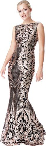 3be508dffdd Goddiva Luxusní večerní dlouhé šaty - Glami.cz