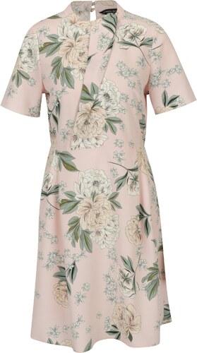 23db34156e6 Zeleno-ružové šaty s volánom Dorothy Perkins - Glami.sk