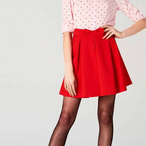0c71970a58e1 Mohito - Červená sukně s mašlí little princess - Červená - Glami.cz