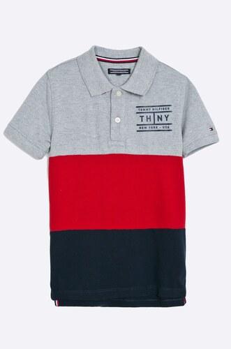 Tommy Hilfiger - Dětské polo tričko 128-176 cm - Glami.cz a179ed0d668
