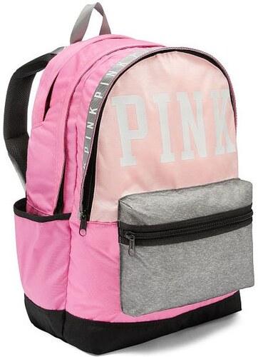 b43ff9e1fdf Batoh Victoria s Secret Pink Campus růžový - Glami.cz