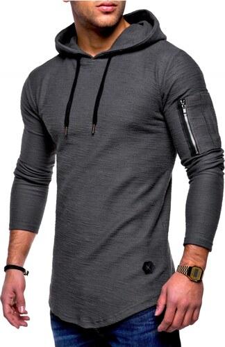 448734cba22 Pánské tričko s kapucí Oversize MA-1 MT-7422