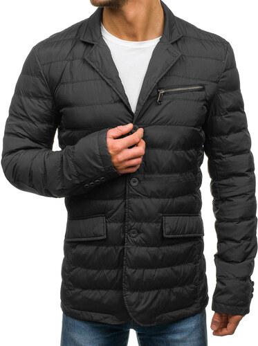 Čierna pánska prechodná bunda BOLF 392 - Glami.sk d45c81361bb