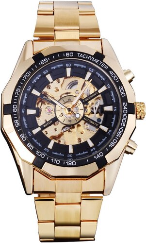 Pánské mechanické hodinky Winner TM340GL - Glami.cz 15887b3a2f