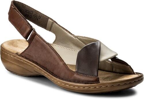 Sandály RIEKER - 60832-25 Braun Kombi - Glami.cz 3e611bc515