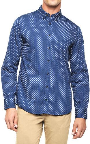 61b2d234524 Tommy Hilfiger pánská modrá košile Norman - Glami.cz