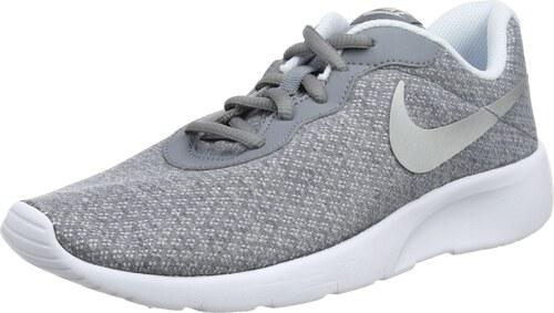 579ace840c ... sale nike tanjun gs baskets fille gris cool grey metallic silver blue  tint white 38.5 eu