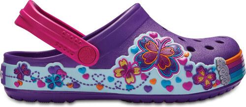 Dětské pantofle Crocs CB Fun Lab Graphic Clg K Amethyst C10 fialová - 27 f712f233fd