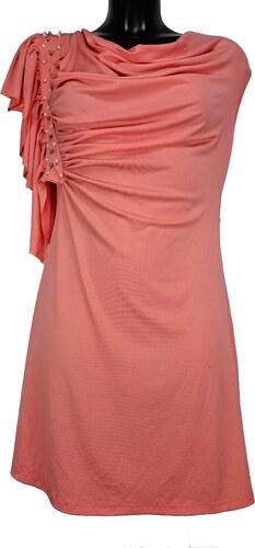 bb4c4ed104b3 ANGEL EYE dámské oranžové šaty - Glami.sk