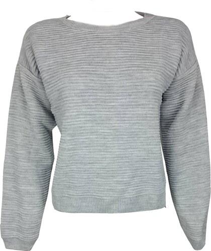 NEW LOOK dámský šedý svetr - Glami.cz f8f75cd350