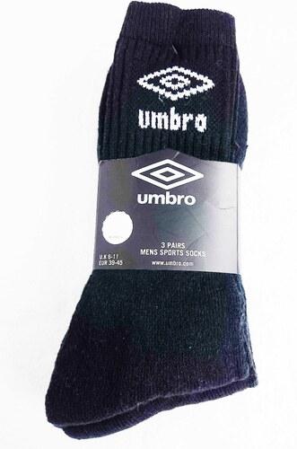 588154a96d8 UMBRO pánské černé ponožky - Glami.cz