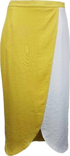 RIVER ISLAND dámská bílá-žlutá sukně - Glami.cz 6849158932
