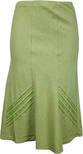 7c60540a869 BM dámská světle zelená sukně - Glami.cz
