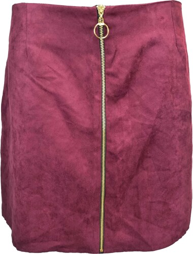 ATMOSPHERE dámská vínová sukně - Glami.cz 8b498a09cc